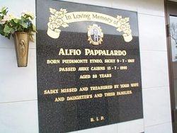 PAPPALARDO Alfio