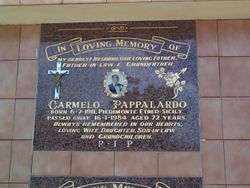 PAPPALARDO Carmelo