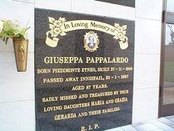 PAPPALARDO Giuseppa