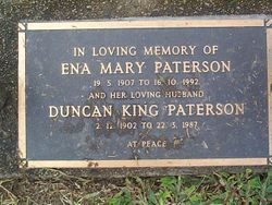 PATERSON Ena Mary