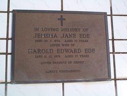 EDE Harold Edward