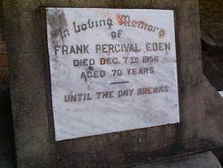 EDEN Frank Percival