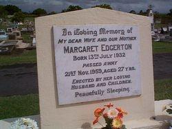 EDGERTON Margaret