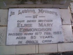 EDMONDSON Elsie Mary