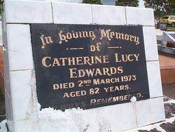 EDWARDS Cathherine Lucy