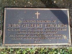 EDWARDS John Gilbart