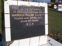 ELLIOTT Maurice Allan