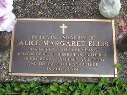 ELLIS Alice Margaret