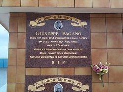 PAGANO Giuseppe