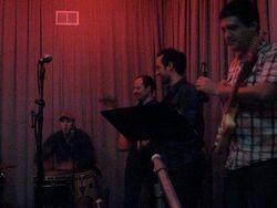 backing West African Jazz group Le Orchestre Super Vitesse