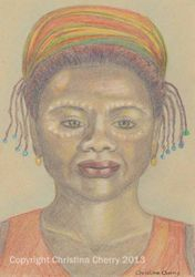 African lady spirit guide