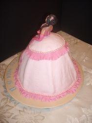 Princess Cake Back View