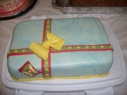 Gift package Cake w/ Grenada Flag