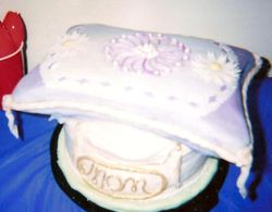 Mother's Day Pillow Cake