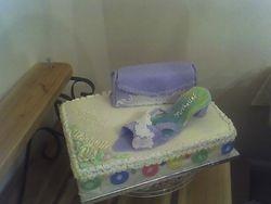 Shoe & Purse Cake