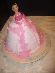 Princess Cake front view