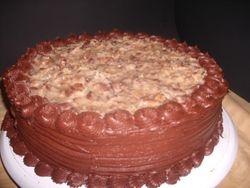 German Chocolate Cake