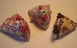 Mystery Chicken Pincushions
