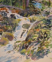 watercolor/stream study 3
