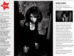 Warhol's Children Magazine, 2012, 'Instant Celebrity'