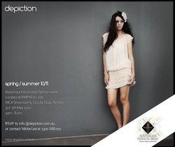 Rosemount Australian Fashion Week invitation, 2010
