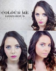 2013 - The face of make up brand, Colour Me Gourgeous