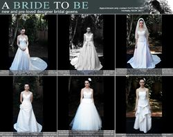2013 - A Bride To Be - Look Book/Advertising