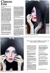 Matilda De Bati Magazine, April 2014