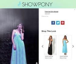 Showpony Fashion website