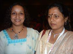 Bratati & Mrs Madhumita Roy at Kathak Conference, San Francisco (2005)