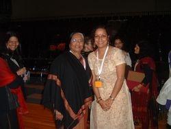 Mrs Kumudini Lakhia & Bratati Saha