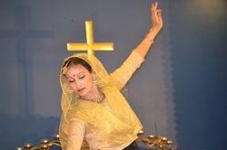 Gandhi Temple performance