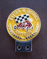 EXETER & DISTRICT KART CLUB CAR BADGE