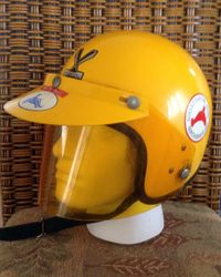 1971 CENTURION HELMET DONATED BY KEITH TAIT