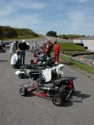 Judging of the kart show on Saturday & JUST RELAXING
