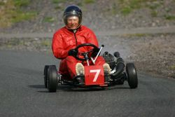 Stuart Clennell on his 1968 Dale Phantom / Bultaco 200