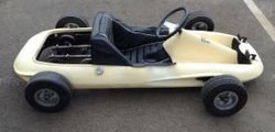 STARFIRE 63 KART found in POTTERS BAR - VERY VERY RARE THE ONLY ONE IN EXISTENCE