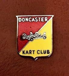 Doncaster Kart Club badge 1960s