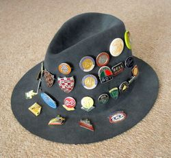 My 1970 Repro Badge Hat - Updated  3/10.2012
