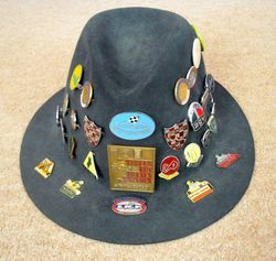 My 1970 Repro Badge Hat - Updated  4/2/2013