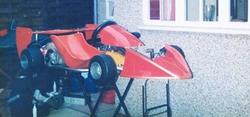 BARLOTTI 79B / VILLIERS 210 RESTORED by JIM COULTHARD IN 1985 IN NICKEL PLATE