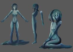 Water Nymph Character Concept