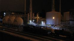 Night View of Mt. States Refinery
