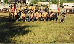 The 4th Texas at Mineral Lake, June 1991