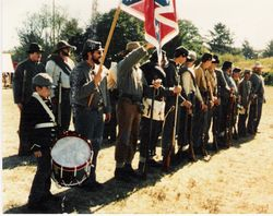 The 4th Texas at Ft. Stevens, 1991
