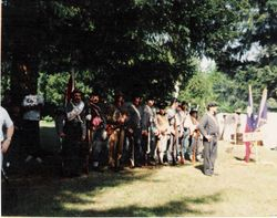 The 4th Texas at McIver Park, 1992