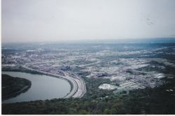 A view from the top of Lookout Mountain