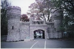 The entrance to Lookout Mountain in Chattanooga, Tennessee