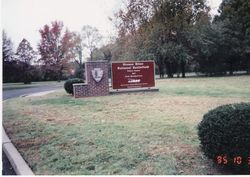 The entrance to the Stones River battlefield in Murfreesboro, Tennessee
