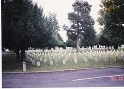 A military cemetary at the Stones River battlefield